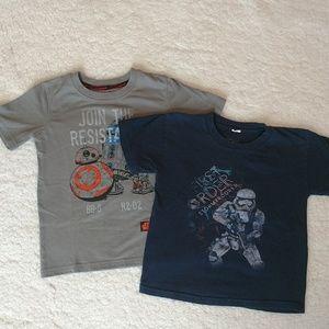 Boys Star Wars t-shirts